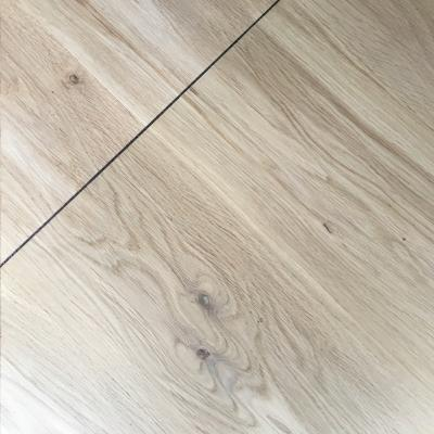 Invisible Finish on Oak