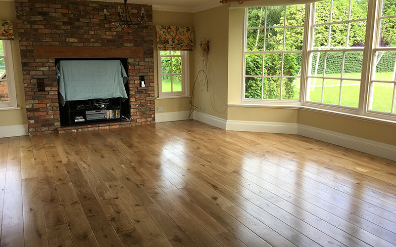 Lacquered Finish Versus Oiled Finish Timberwolf Floors