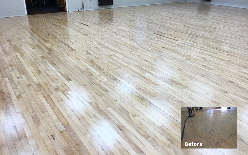 School Floor Sanding hull