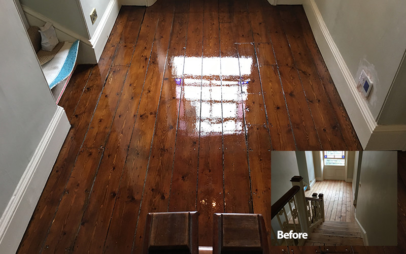Classic Staining Timberwolf Floors