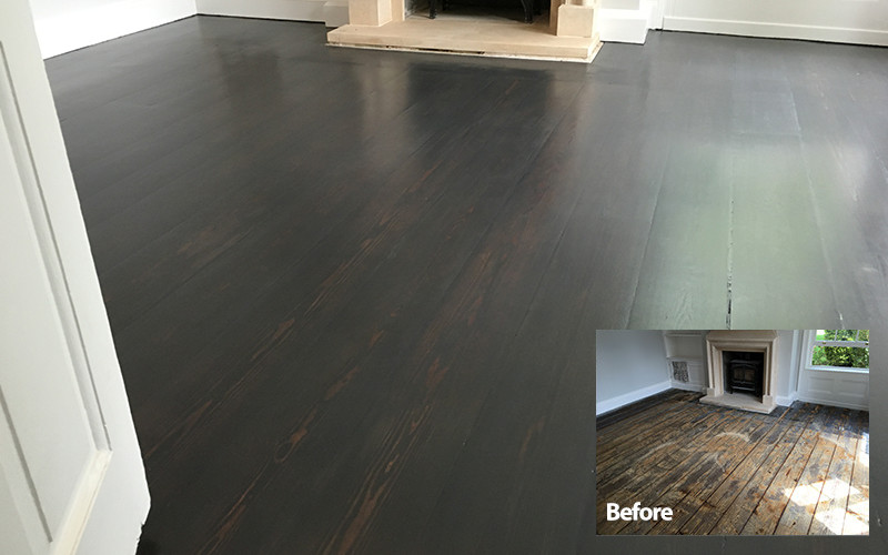 Lacquer Floor