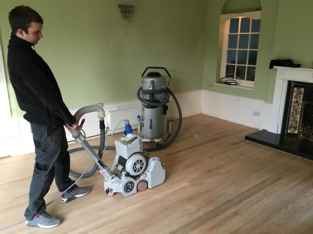 Dust Free Sanding with the Big machine