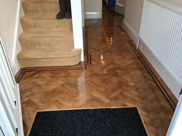 1930's Oak Parquet Battens - Anlaby After