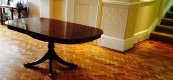 Sports Floor Varnishing